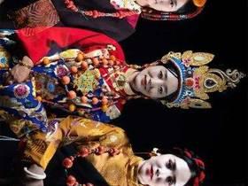 """"""" 康巴姑娘最美的样子, 就是她们穿上民族服装的那一瞬间""""甘孜州十八个县(市)最美女装展示"""